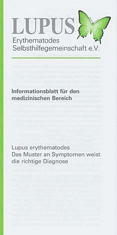 Informationsblatt fuer den medizinischen Bereich